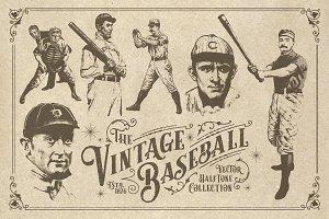 20 Vintage Baseball Elements