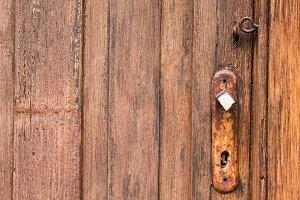 Vintage Doorknob Keyhole