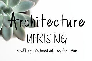 Architecture Uprising Font