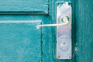 Doorknob Vintage Detail