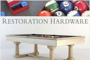RH Brunswick billiards table