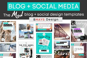 The Mod Blog + Social Media Bundle