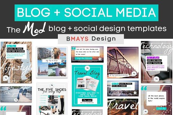 The Mod Blog Social Media Bundle