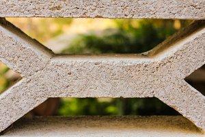 Concrete Handrail Detail