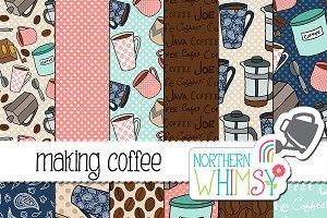 Coffee Seamless Patterns