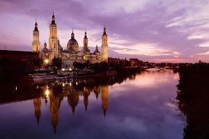 Basilica of Pilar in Zaragoza