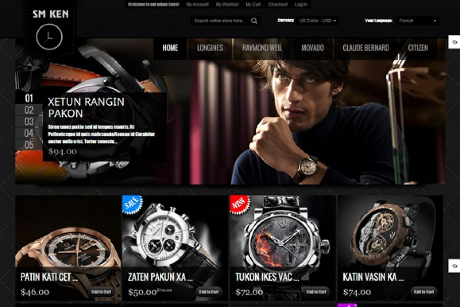 11 Magento Ecommerce Themes & Templates