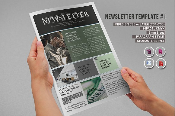Newsletter Template #1