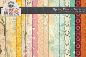Spring Fever Fantasy Papers
