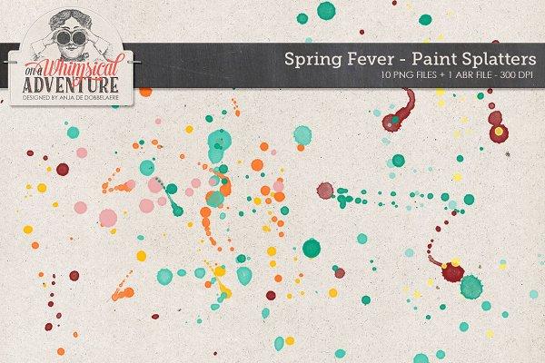 Spring Fever Splatters