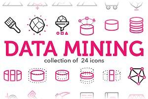 Data Mining Icons