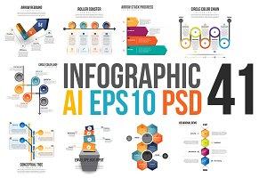 Infographic Set 41