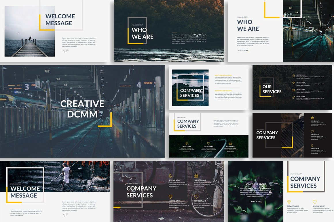 creative powerpoint templates free - dcmm creative powerpoint template presentation