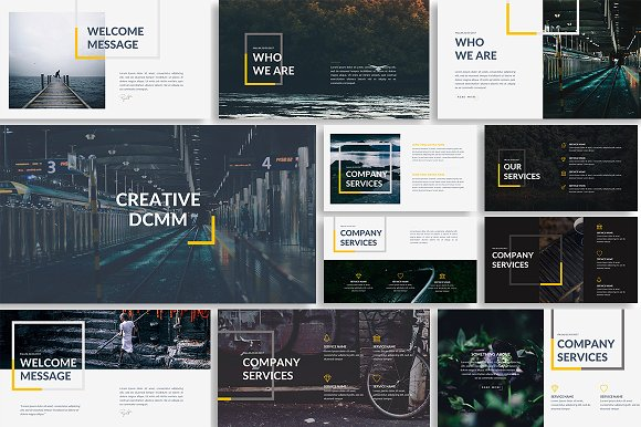 dcmm creative powerpoint template presentation templates