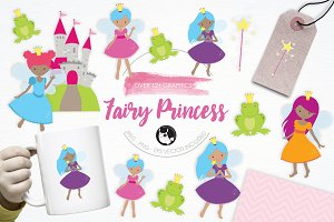 Fairy Princess illustration pack