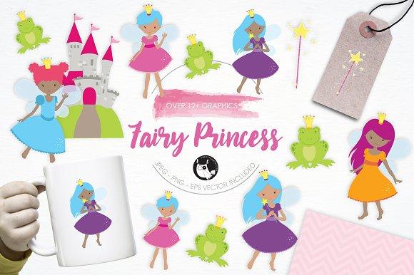 Fairy Princess illustration pack