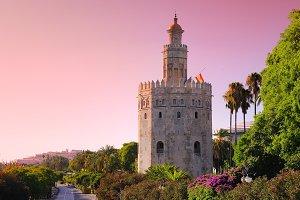 Torre del Oro, Seville.