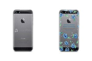 Apple iPhone 5s-SE-PC Clear Case