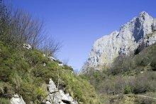 Mountain river landscape