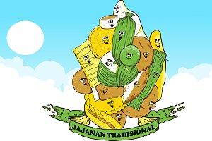 Jajanan tradisional Logo design