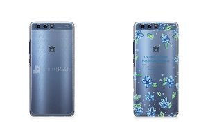 Huawei P10- PC Clear Case Mockup