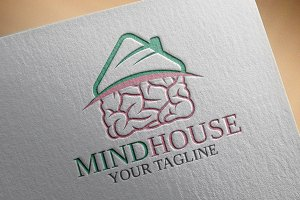 MindHouse Logo Template