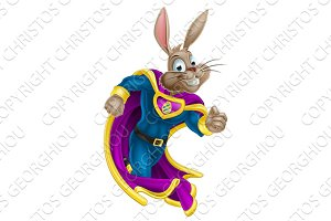 Easter Bunny Super Hero