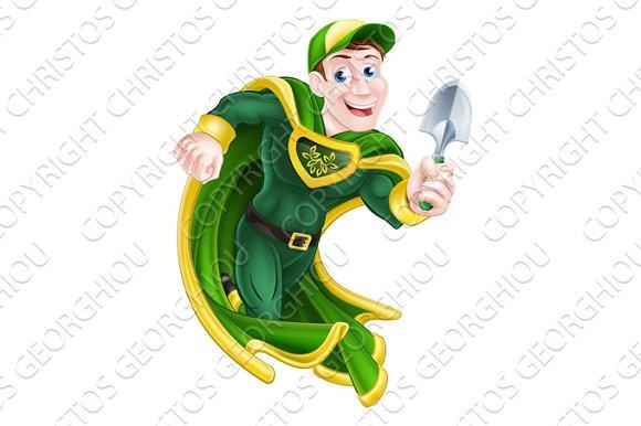 Superhero Gardener