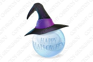 Halloween crystal ball