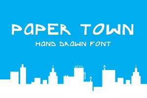 Paper town font