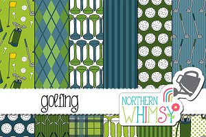 Golf and Golfing Patterns