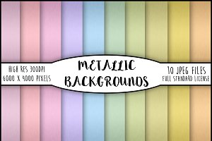 10 Beautiful Metallic Backgrounds