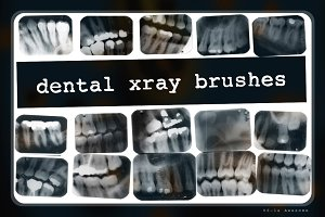 Dental X-ray Brushes