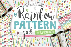 50 Rainbow Patterns