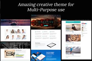 Max - Responsive Multi-Purpose Theme