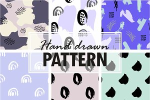 15 Hand drawn patterns