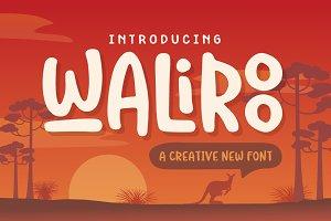 Waliroo Font