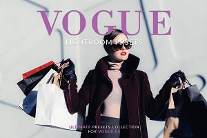 Vogue Lightroom Presets