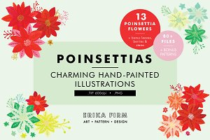 Poinsettia Illustrations