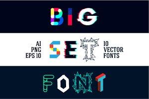 10 vector fonts