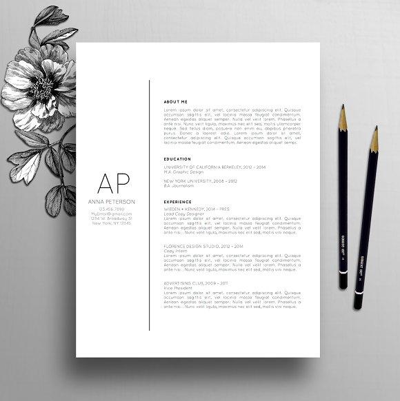 Resume Template CV Cover Letter