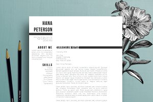 Resume Template / CV + Cover Letter
