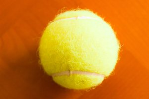 Tennis Ball Detail