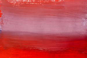 Shades of red abstract gouache