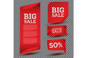 Big Sale Banner Set