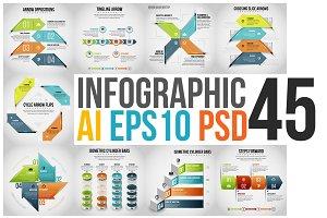 Infographic Set 45