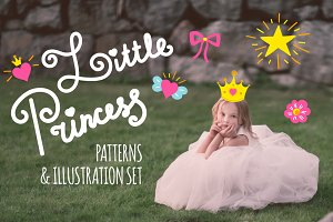 Little Princess patterns and prints