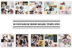 10 Instagram Mood Board Templates