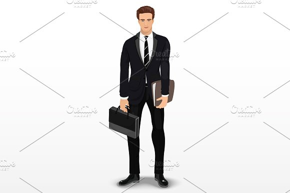 Man In Stylish Suit
