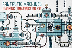 Fantastic Machines Construction Kit